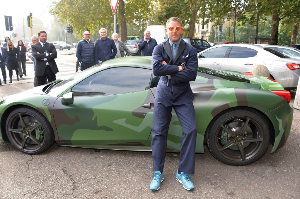 Lapo Elkann Garage Italia Customs