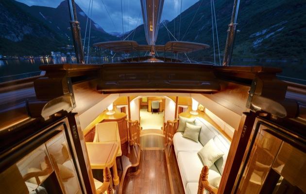 Master cabin deckhouse, Wisp