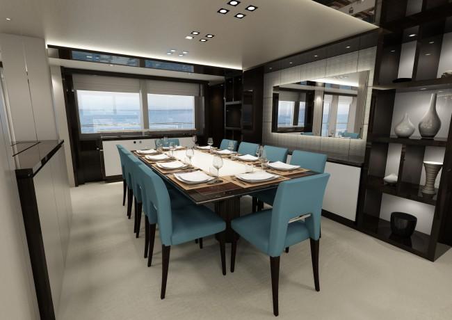 131 Yacht - Dining