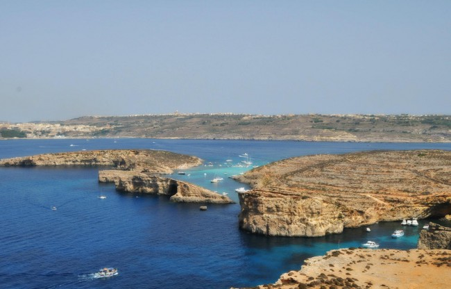 Comino from St Maria Tower
