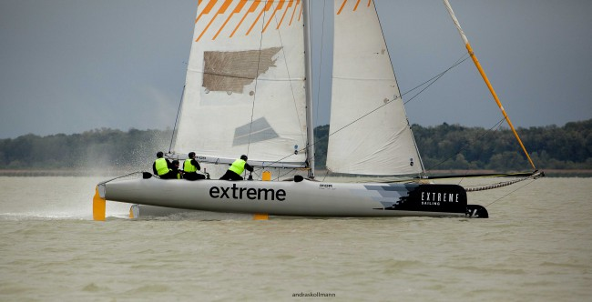 Extreme_Sailing_Team_Extreme_40_katamarán