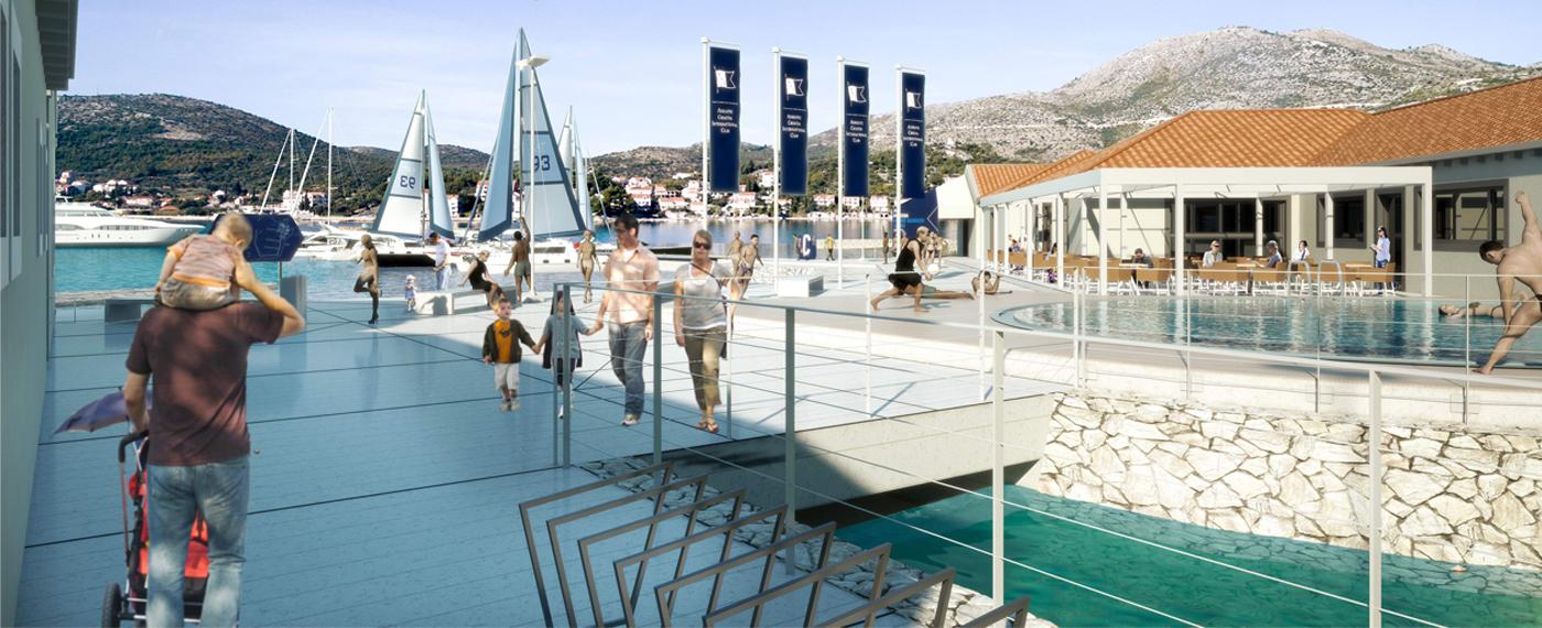Új kikötő Horvátországban