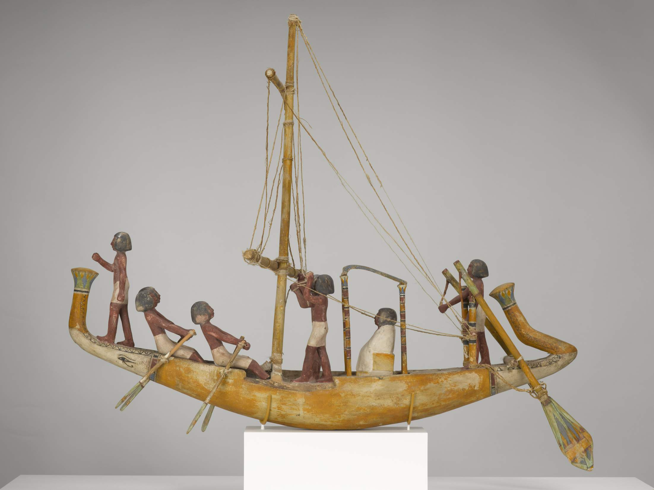 EGYPTIAN, Model of a Boat, 82_12, view A_0