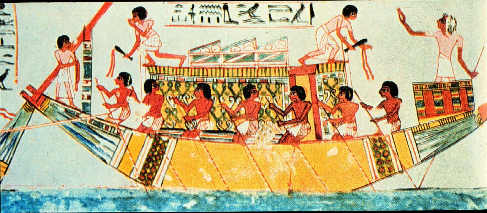 EgyptTombOarboat