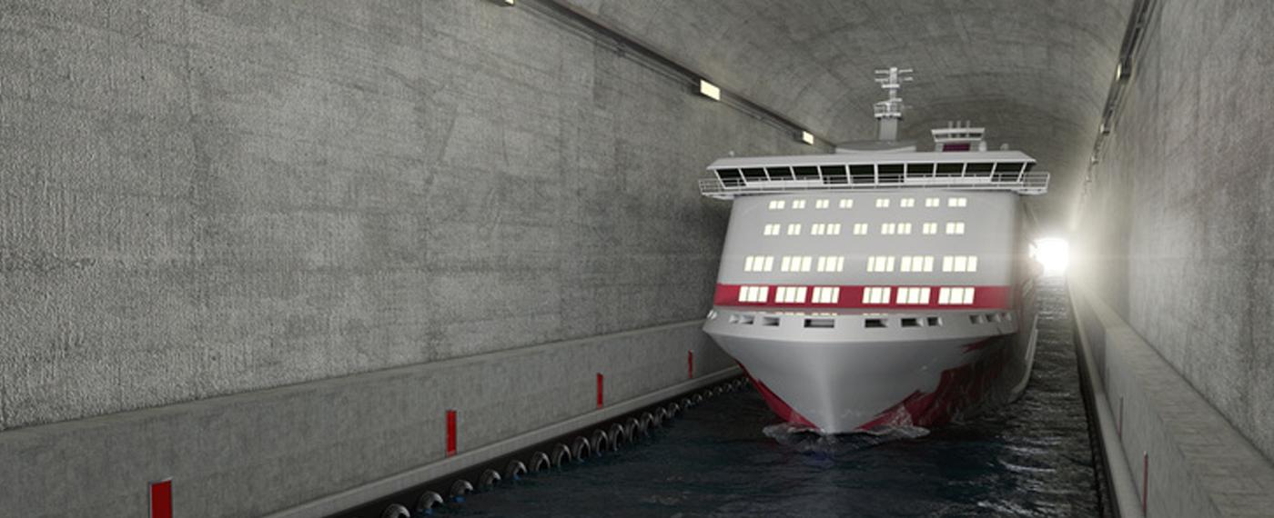 Alagút épül hajóknak