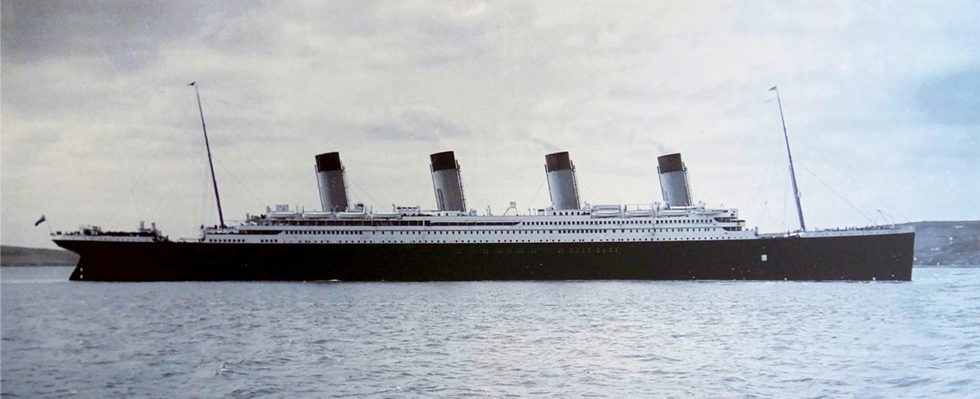 Ezért süllyedt el a Titanic