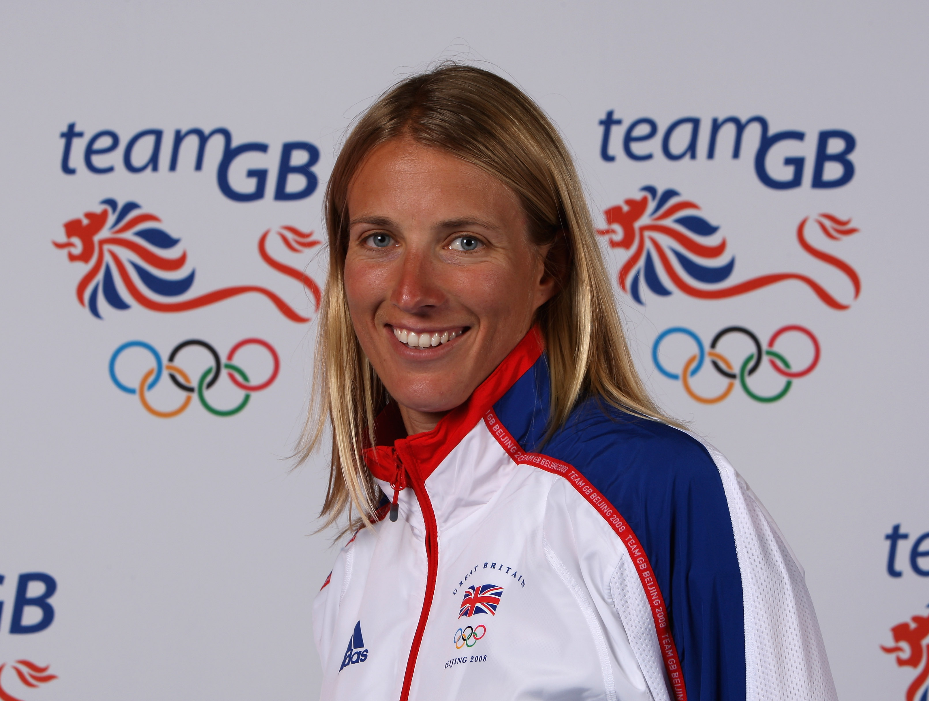 BIRMINGHAM, UNITED KINGDOM - JULY 02: Sailor Saskia Clark of the British Olympic Team, poses for a photograph during the Team GB Kitting Out at the NEC on July 2, 2008 in Birmingham, England. (Photo by David Rogers/Getty Images)
