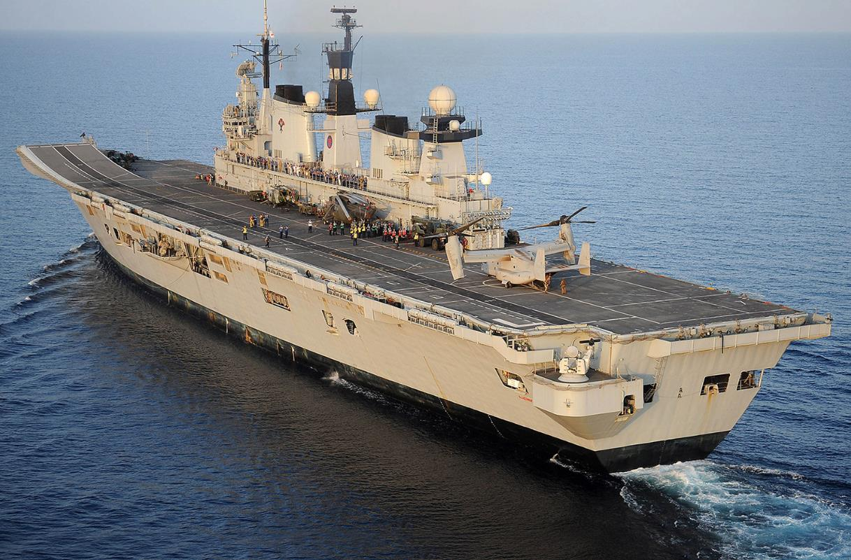 HMS-Illustrious-Supports-New-Carrier-Naming-Ceremony