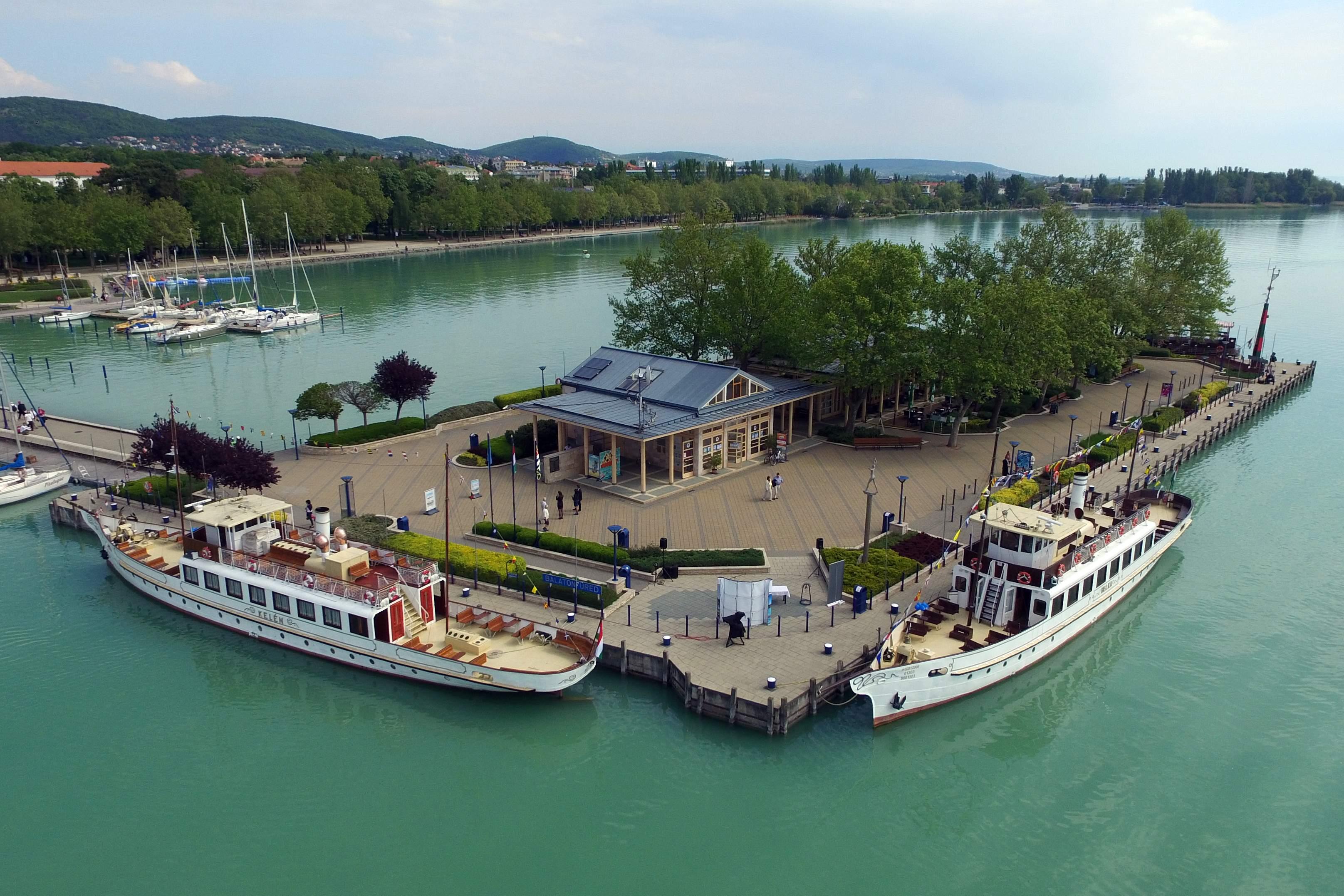 Blatonfüred kikötő Zátonyi Gergely (1)