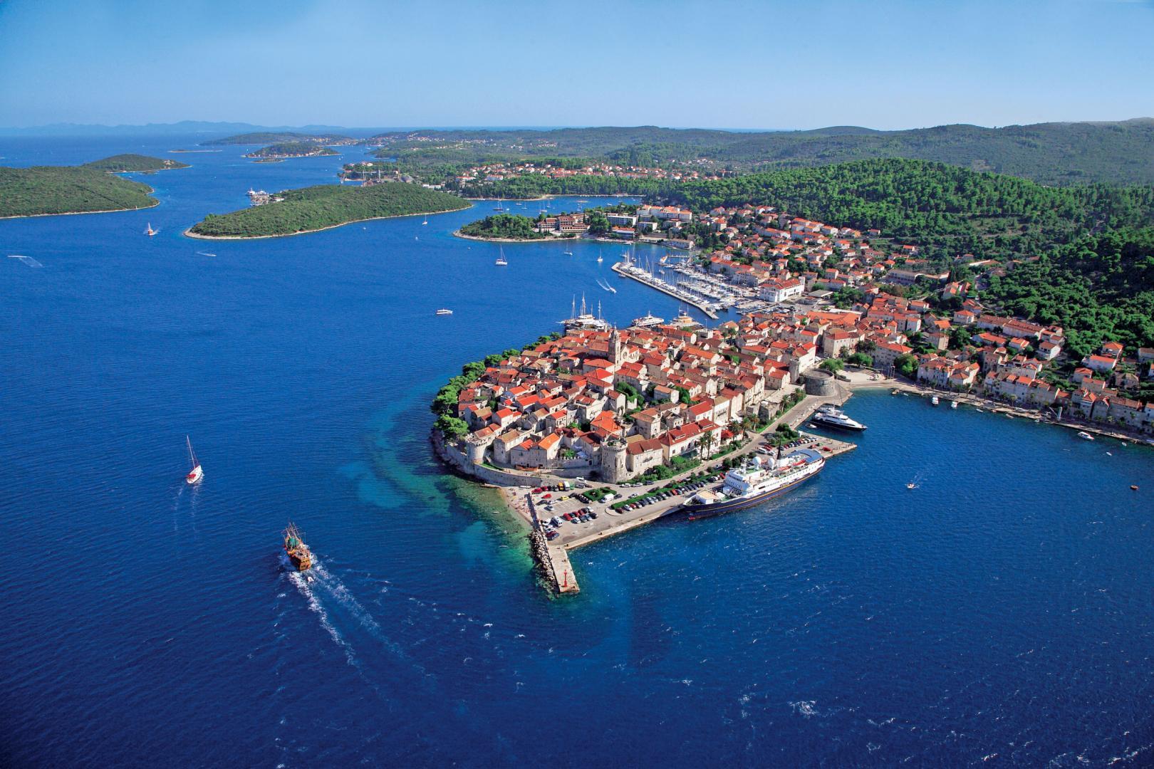 Horvátország-dél-dalmácia-Korcula