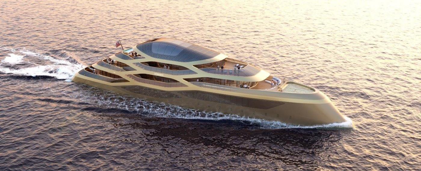 Luxusjacht 77 méteren