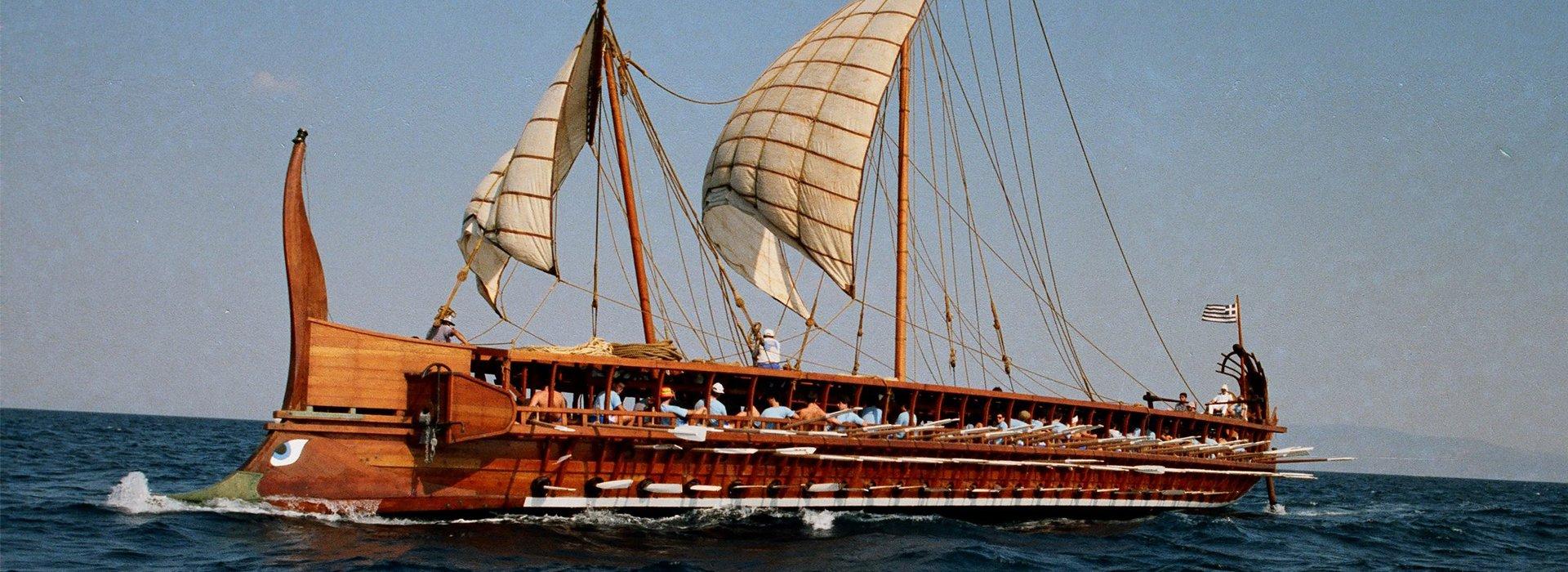 Bárki evezhet egy ókori hajón
