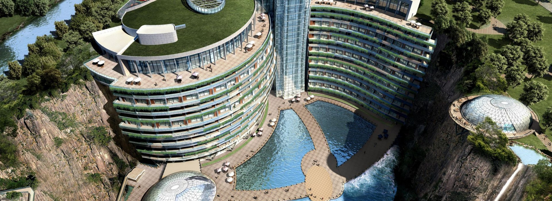 Hotel a föld felszíne alatt