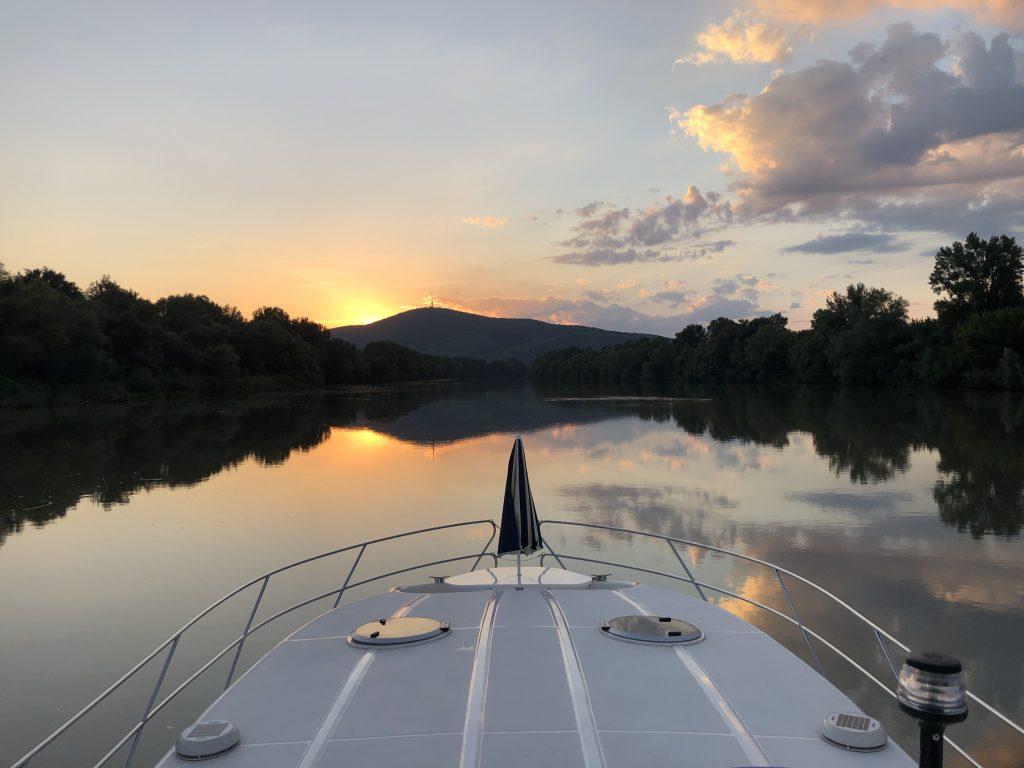 Tisza - naplemente