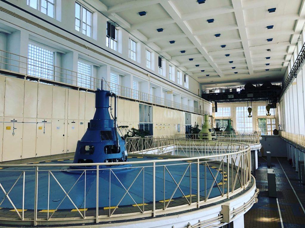 Tiszalók - vízerőmű